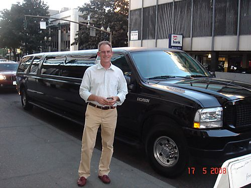 Big black Limo
