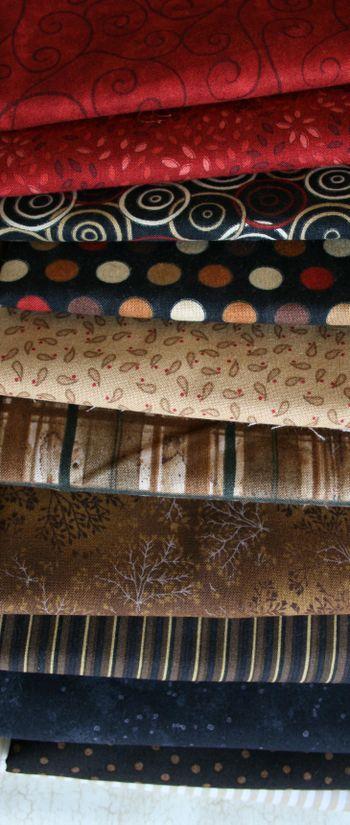 Black and Tan fabrics