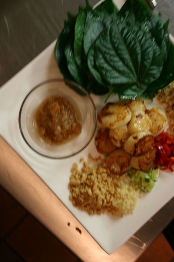Miang of Scallops