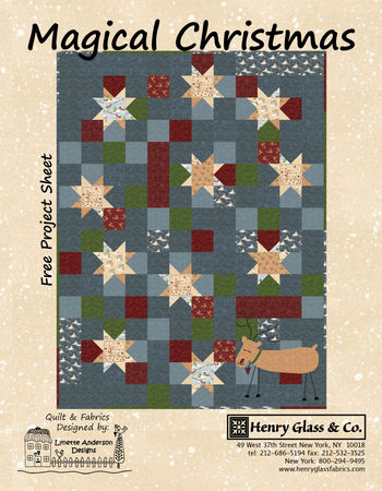 Christmas magic cover with heart