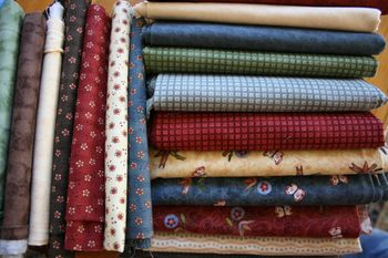 Hedgerow fabric pile