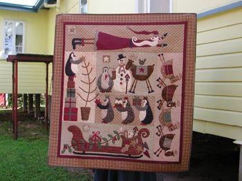 Main quilt