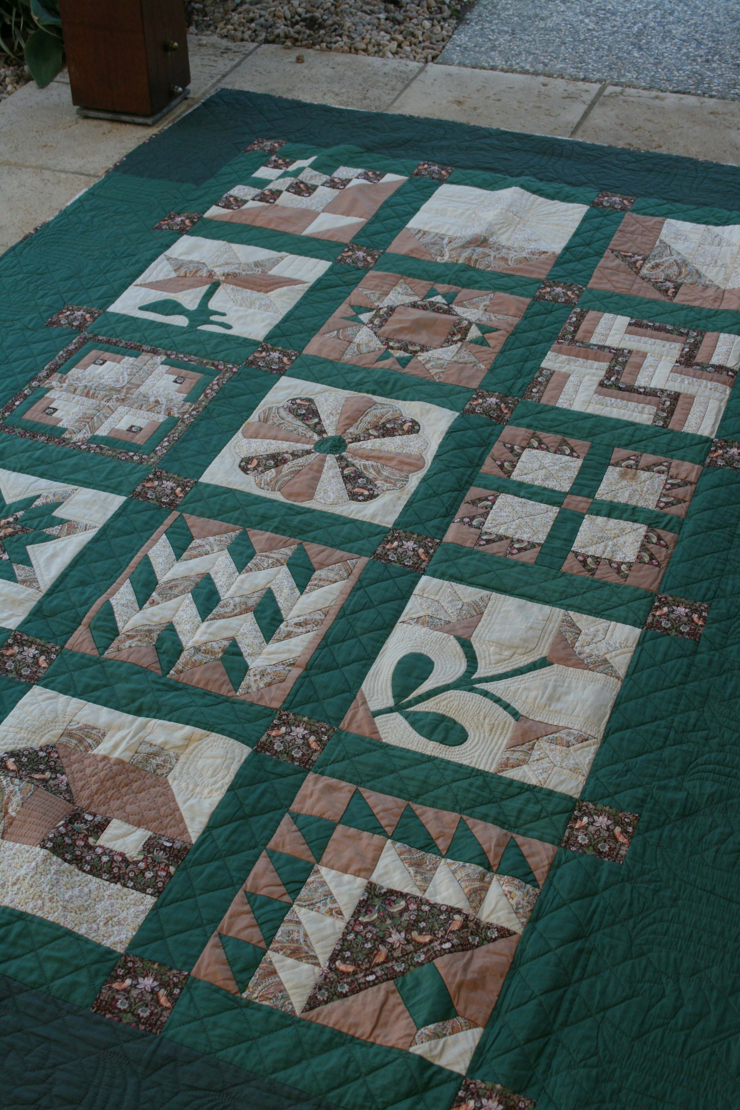 Lynette Anderson Designs My First Quilt