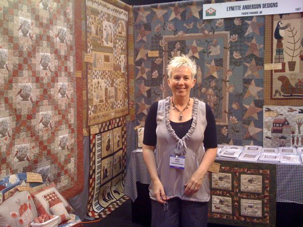 Lynette Anderson Designs: Home safe and packing again