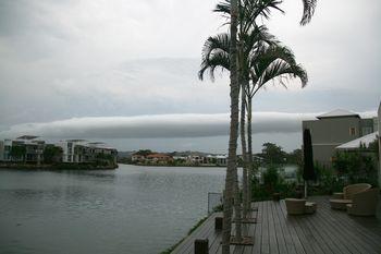 Weird storm cloud