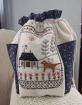 Daisy Cottage Bag