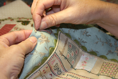 Stitching quilt shoppe