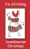 Im stitching scandinavian christmas