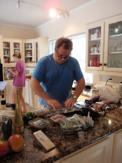 In Kitchen with Andrew