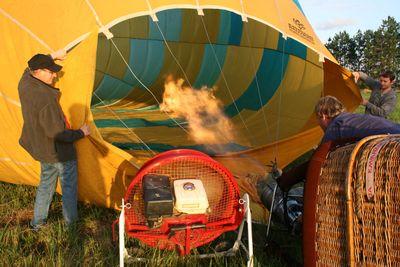 Hot air in1