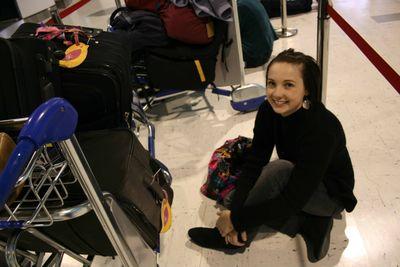 Emma airport queue