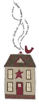 Scandi house with bird