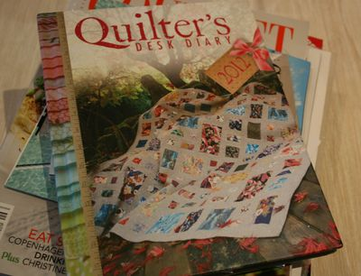 Quilters desk diary