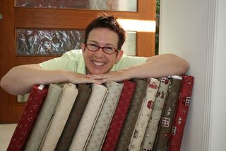 Lynette with Scandinavian bolts
