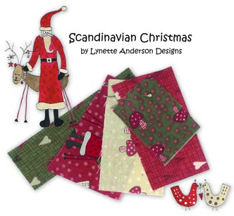Scandinavian Chrsitmas cute collage