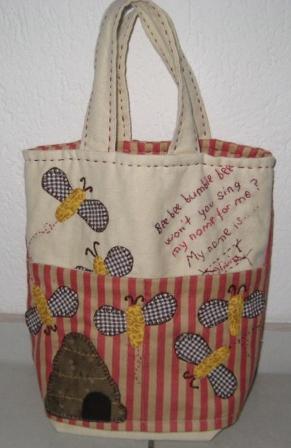 Charlottes bees life bag