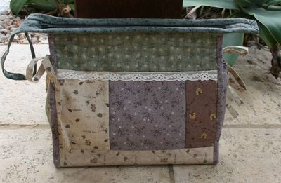 Secret garden wash bag