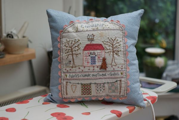 Lynette Anderson Designs Quilt Shoppe Pillow
