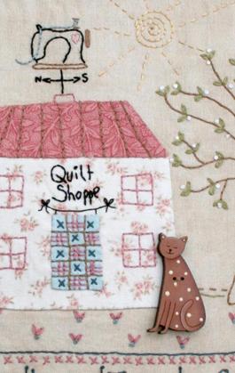 Y343 Quilt Shoppe close up