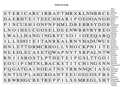 Patchwork puzzle