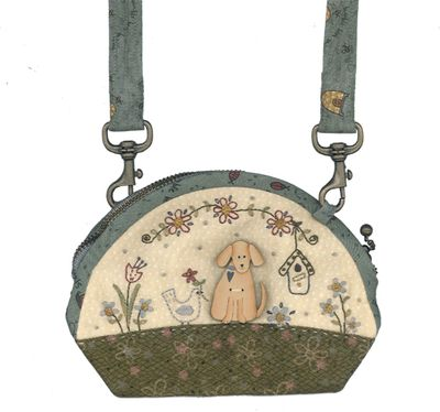 Small puppy purse