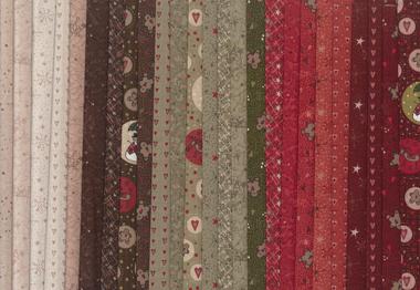 Christmas fun fabrics small