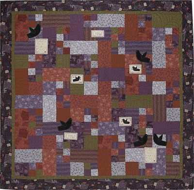 Y196 The Crow Quilt Small