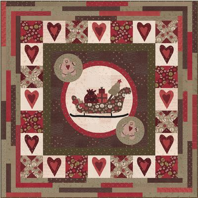 Free sleigh pattern for quilting