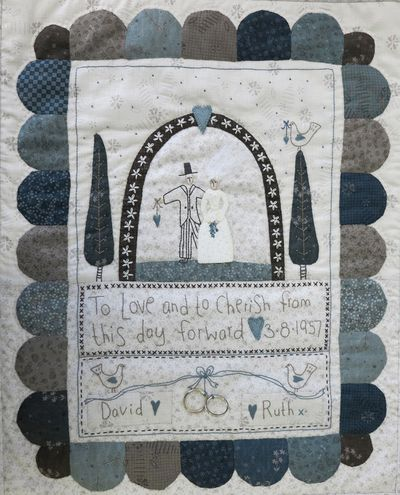 Wedding sampler small