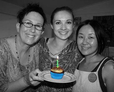 Lynettes Birthday Cupcake