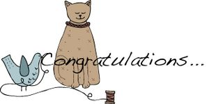 Congratulations cat
