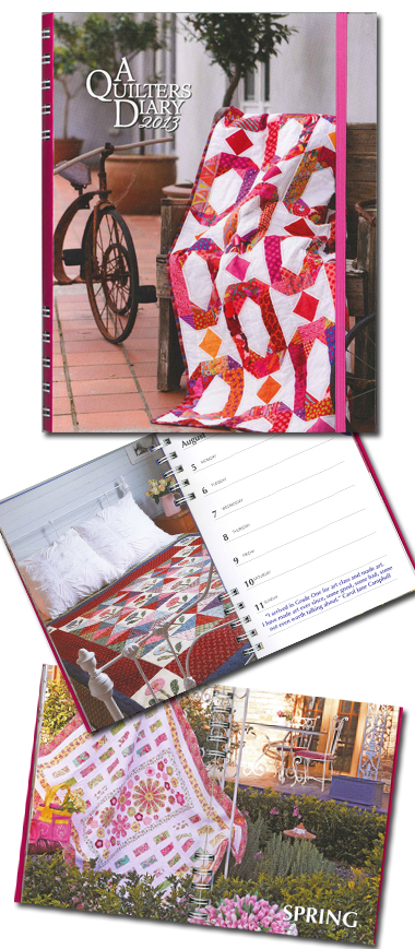 A quilters diary 2013