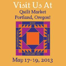 Quilt Market Portland Exhibitor Badge
