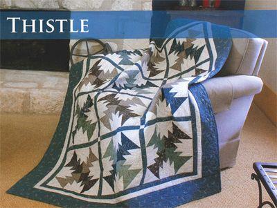 Thistle quilt
