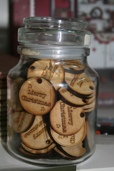 Jar of tags
