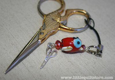 LQS scissor charm