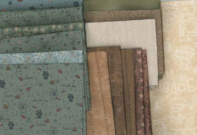 LQS fernhill fabric starter pack