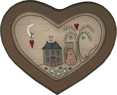 Heart and Home framed