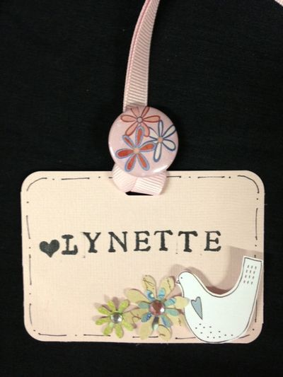 Lynette name tag