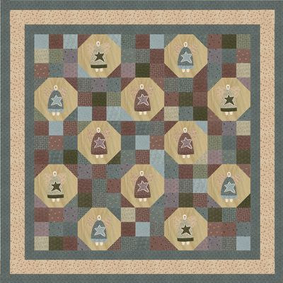 Folk Art Quilt Ideas : ANGELS IN DISGUISE QUILT PATTERNS Quilts & Patterns
