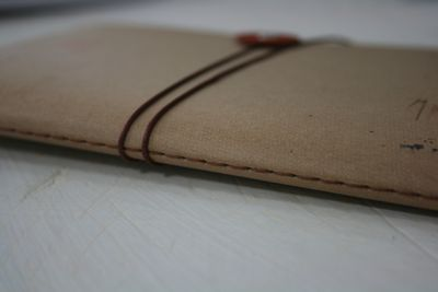 Stitched book