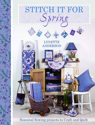 Stitch it for spring cover
