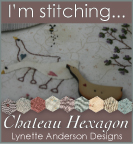 Im stitching chateau hexagon