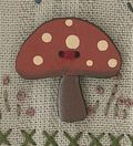 YB371 Toadstool Button