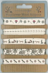 Wildflower wood ribbons
