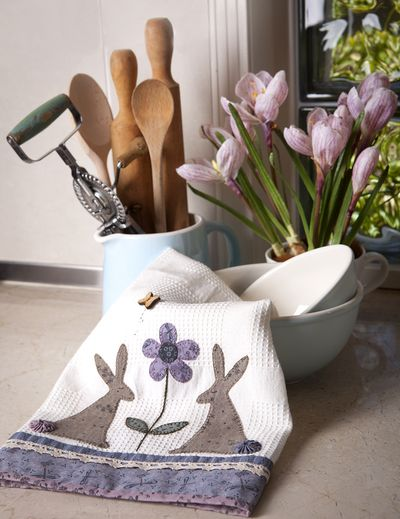 Sweet Rabbit Tea Towel