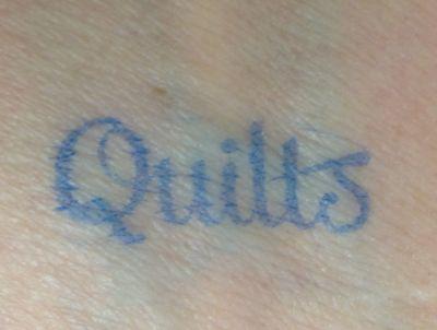 Quilt tat