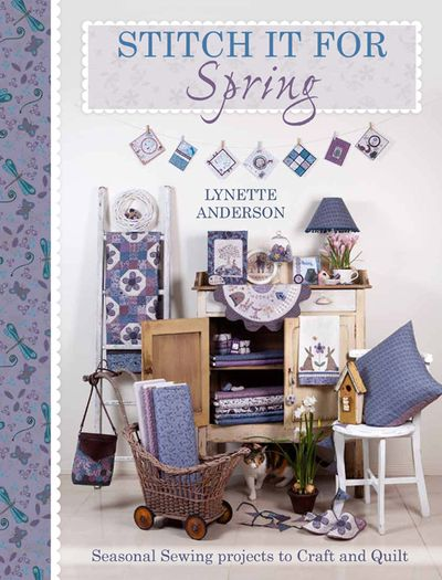LQS Stitch it for spring cover