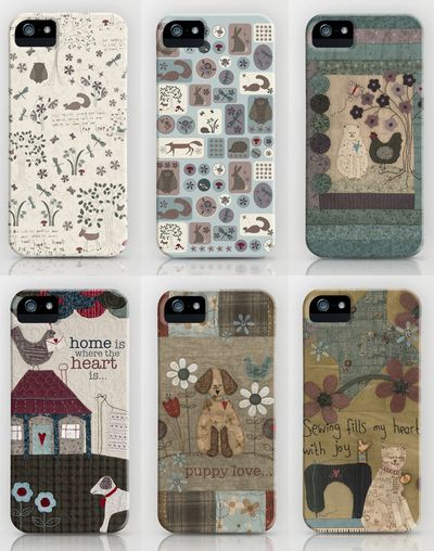 new arrival ea03a 4fa5b Lynette Anderson Designs: phone covers...