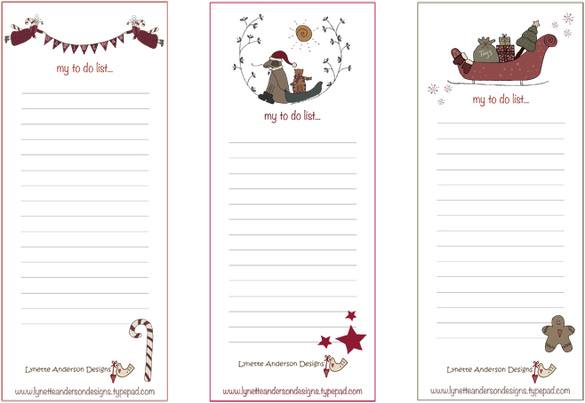to do lists download christmas